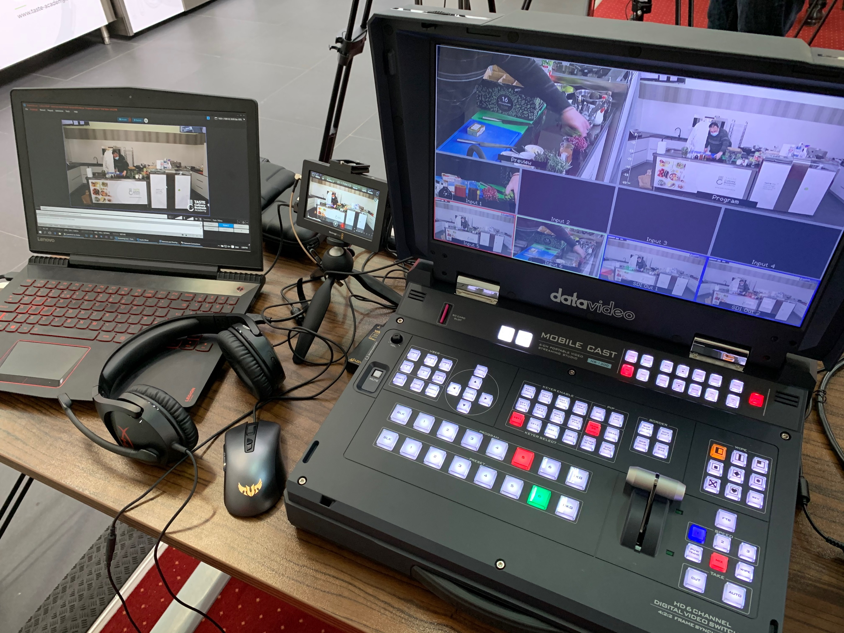 Behind the scenes from the non-stop innovation in culinary business management webinar